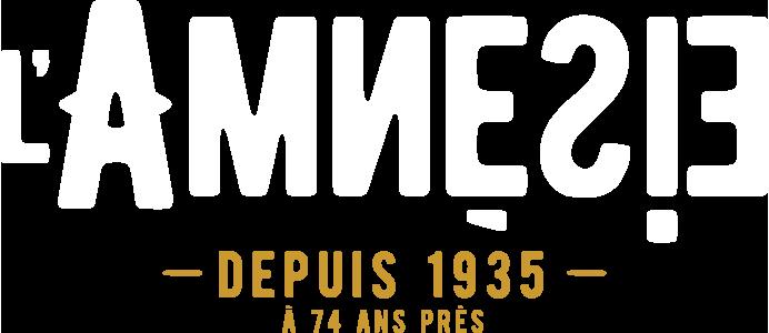 L'amnésie depuis 1935 à 74 ans près