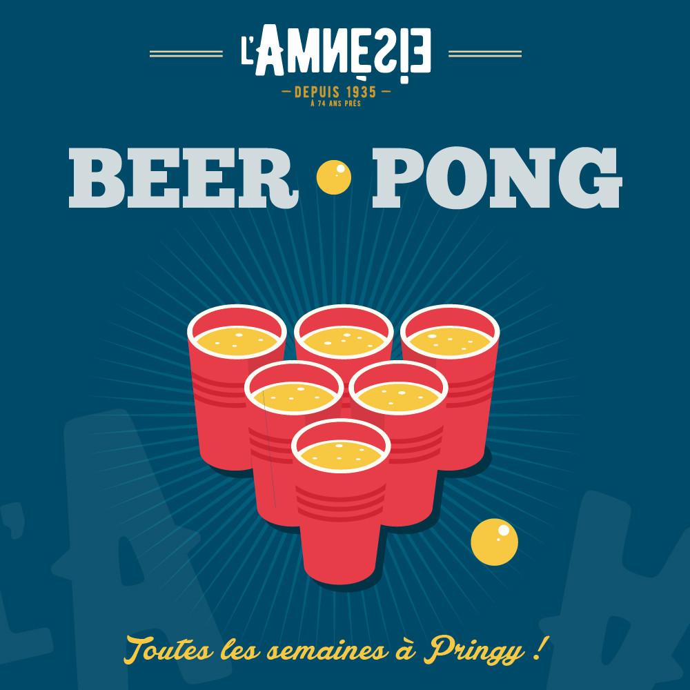 Beer Pong - l'Amnésie