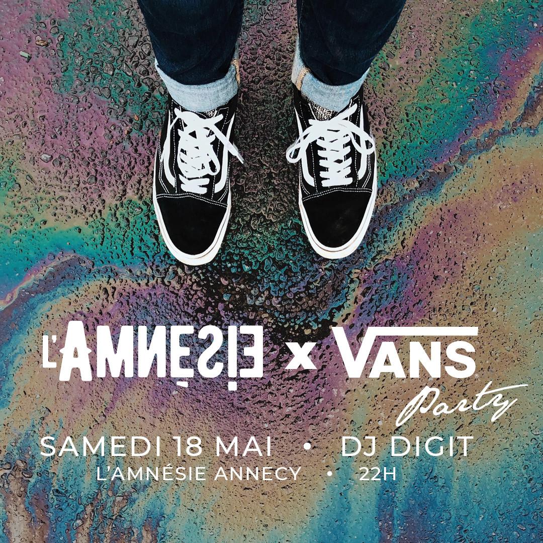 L'Amnésie X Vans Party / Dj Digit - l'Amnésie