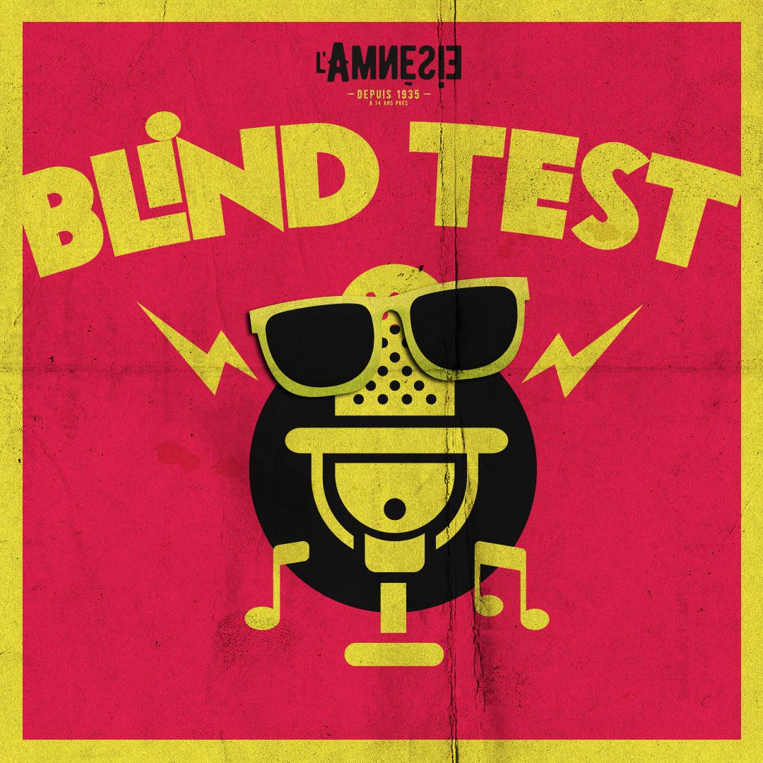 BLIND TEST - l'Amnésie