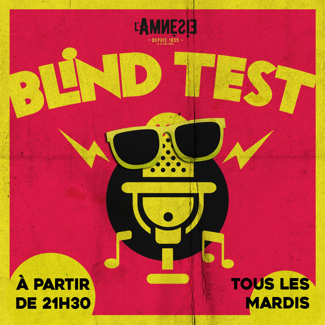 BLIND TEST - l'Amnésie