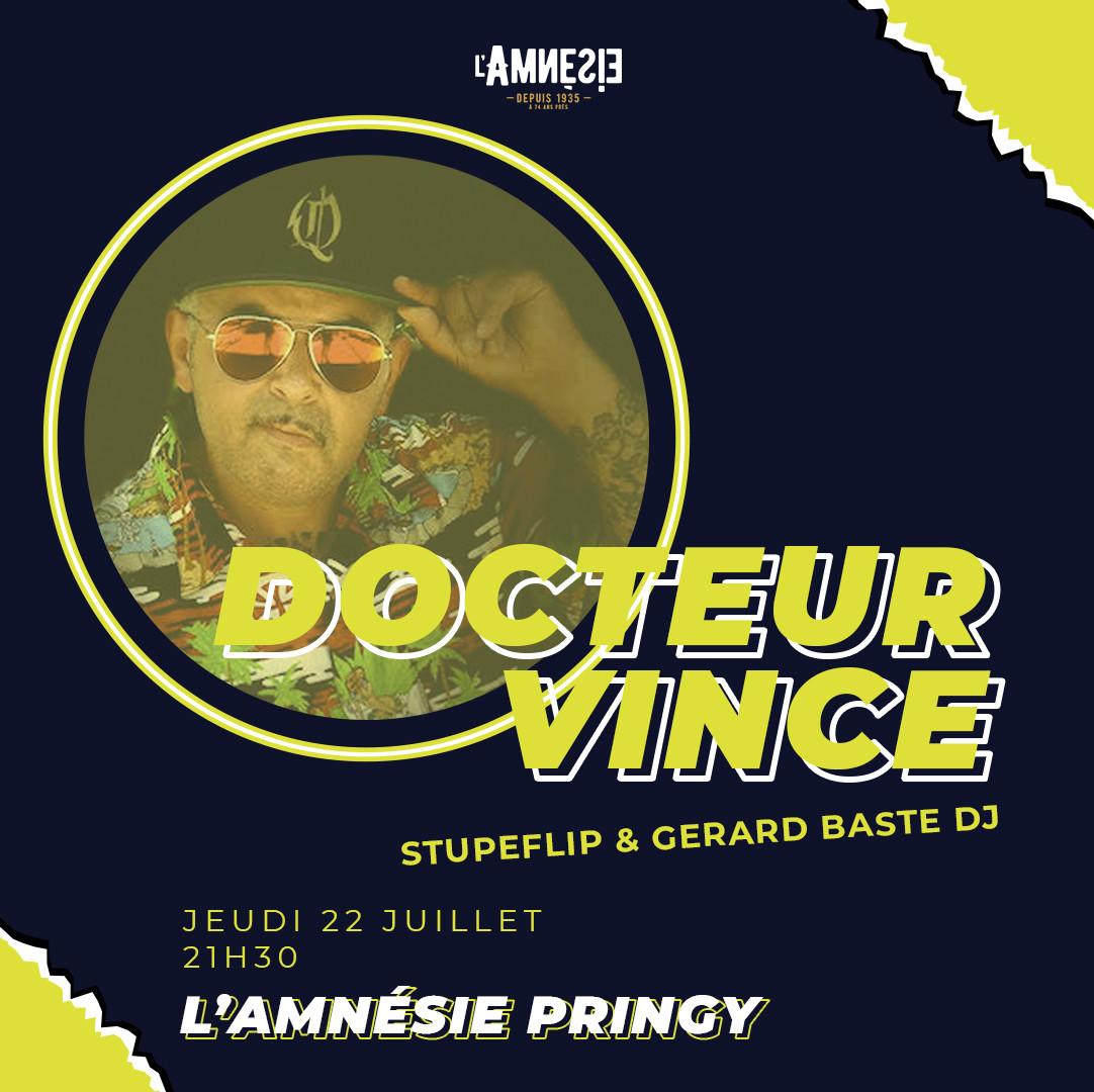 Docteur Vince - l'Amnésie