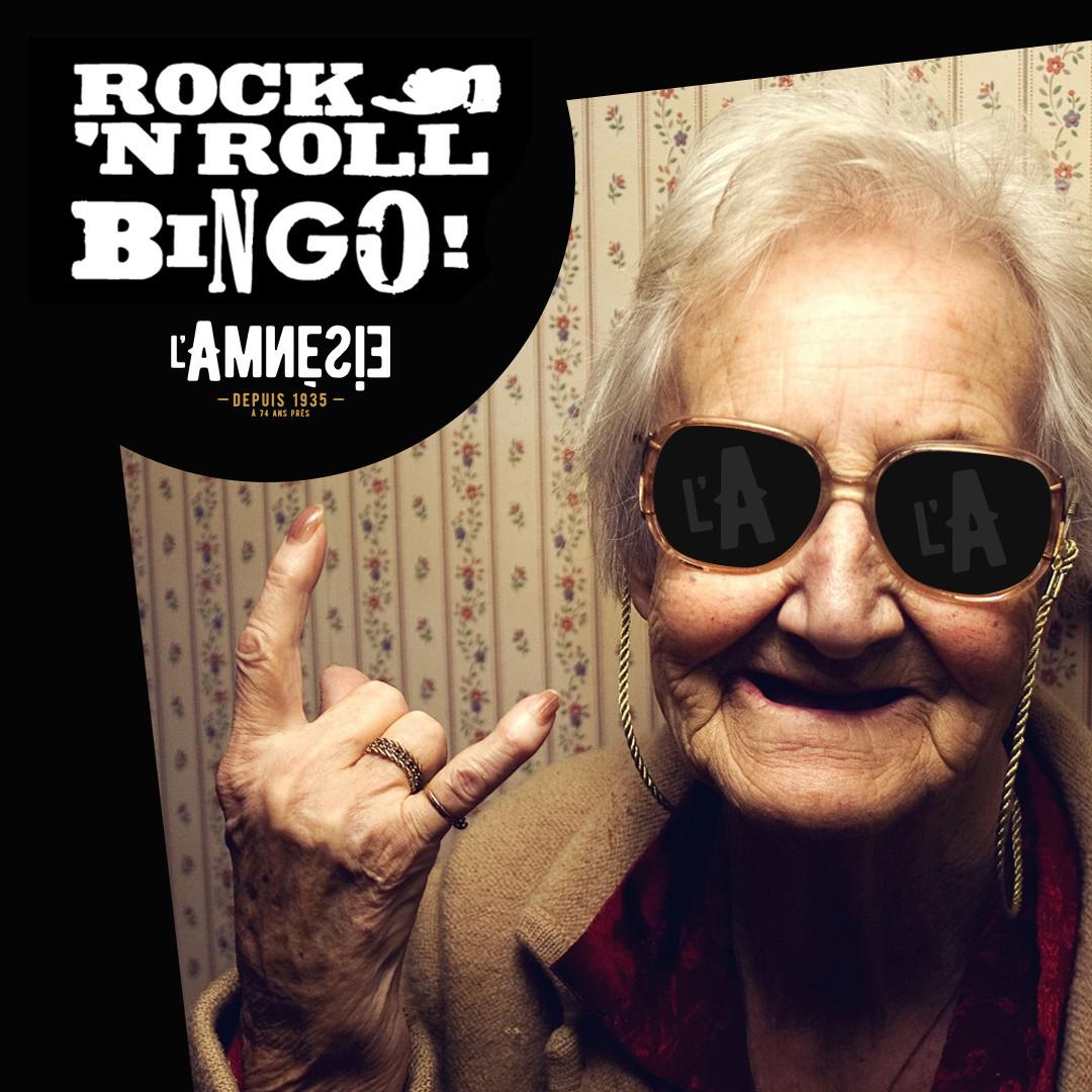 Rock N'Roll Mamie Bingo - l'Amnésie