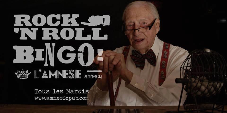 Rock N'Roll Bingo - l'Amnésie